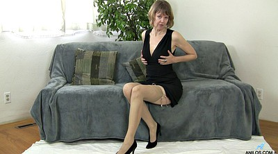 Stockings, Mature solo, Mature stockings, Stockings solo, Solo stockings