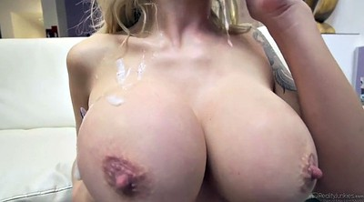 Cummings, Cum on boobs