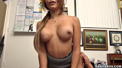 Missionary, Silicone tits, Mature casting, Casting mature