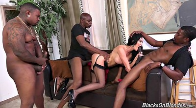 Jasmine, Interracial gangbang, Gangbang interracial