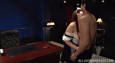 Maid, Asian long hair