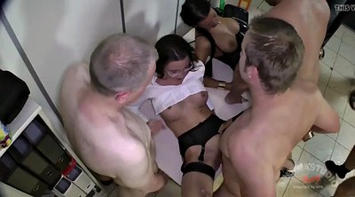Gangbang creampie, Office sex