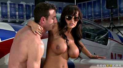 Lisa ann, Face fuck, All over
