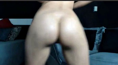 Small tits, Ass show