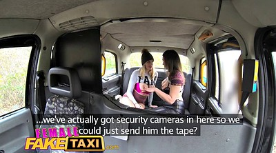 Fake taxi, Blonde fake tits