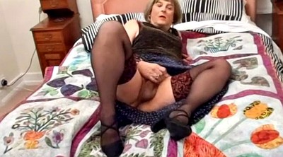 Tranny, Polish, Hard, Black tranny, Tranny cum, Ebony stockings