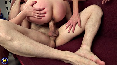 Threesome, Threesome mature, Mature riding