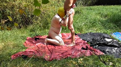 Piss, Outdoors bondage, Beach fuck, River, Outdoor piss, Piss blowjob