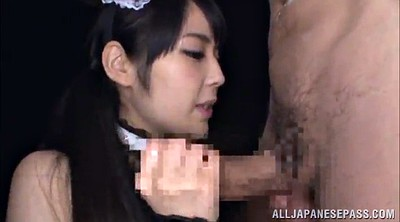Japanese maid, Japanese blowjob, Japanese beautiful