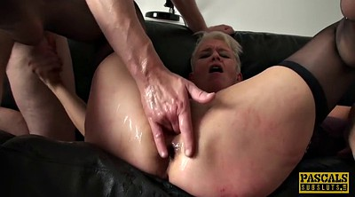 Mature anal, Busty milf