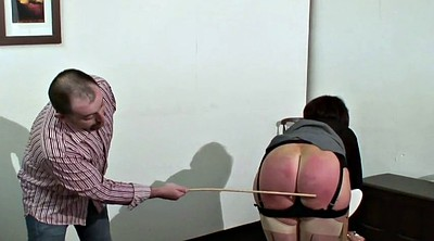 Caning, Mature lady