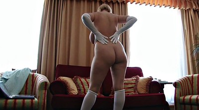 Gloves, Hairy stocking, Stocking mature, Hairy stockings, Sophie, Hairy stocking mature