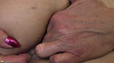Granny anal, Pussy fuck, Amateur mature anal