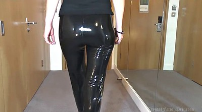 Latex, Liquid, Leggings, Leg