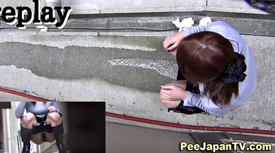 Japanese outdoor, Japanese peeing, Pee public, Japanese public, Take off, Babes asian