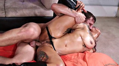 Oil, Threesome anal, Punk, Anal oil