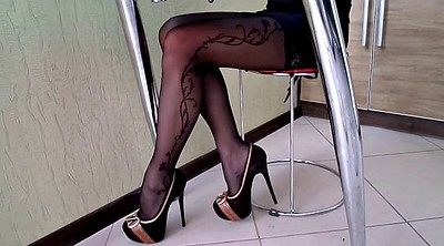 Heels, High heels, Stockings heels, Pantyhose heels
