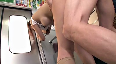 Bus, Abuse, Japanese creampie, Abused