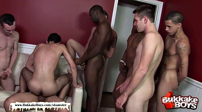 First anal, First blowjob, Gay gangbang, Gangbang interracial, Gay interracial, Anal first