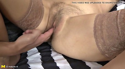 Mom son, Old milf