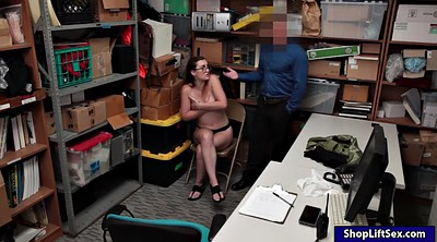 Pov, Shoplifter, Shoplifting, Naughty office, Shoplift