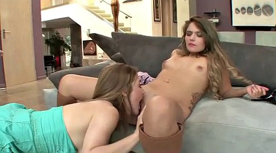 Young girl, Old mom, Mom seduce, Lesbian mom