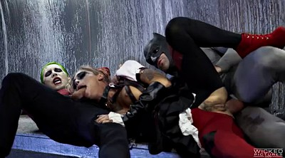 Feet fuck, Harley quinn, Feet anal, Suicide squad, In the ass, Group feet