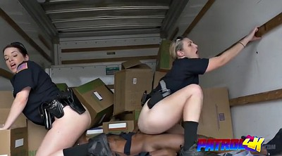 Ebony, Abused, Abuse, Busty, Truck