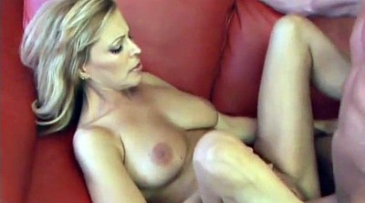 Moore, Mature striptease, Creampy, Couch