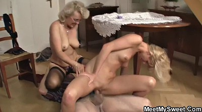 Mature lesbian, Mature son, Old and young lesbian