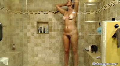 Mature solo, Shower, Solo milf