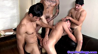 Anal gay, Orgy anal