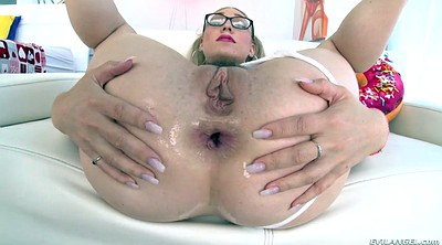 Gaping, Lily labeau, Lubed, Lube