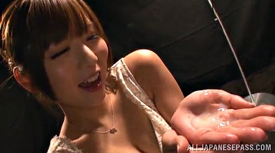 Huge natural tits, Asian gangbang