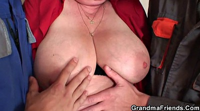 Roleplay, Wife double, Young old, Young milf, Granny double