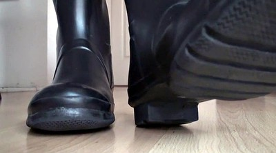 Boot, Boots m, Foot licking, Rubber latex, Rubber boots, Lick foot