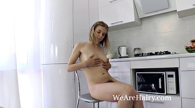 Undressing, Undressed, Russian beauty, Hairy russian
