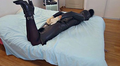 Sounding, Latex bondage, Latex bdsm, Cuffs, Sound, Cuff
