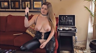 Leather, Leather big tits