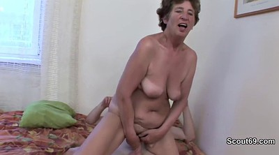 German granny, Young and old, Trap, Mother anal, Young german, Old ass