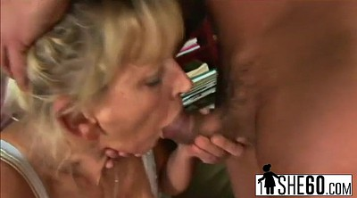 Upskirts, Small cock, Granny swallow