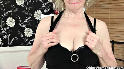 Black stockings, Black granny, Mature stockings, Dress, British mature