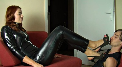 Latex, Latex mistress, Foot worship