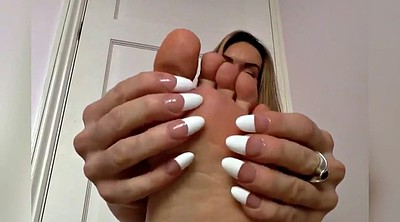 Big boobs, Foot fetish, Foot worship