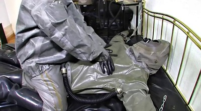 Gloves, Glove, Latex bdsm, Suit, Latex gloves, Milf boots