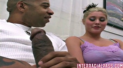 Biggest, Blonde teens, Anal interracial