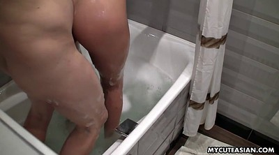 Asian man, Japanese man, Japanese shower