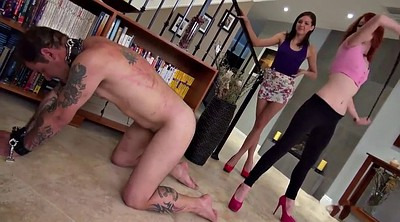 Spank, Whipping, Whipping femdom, Two slave, Mistress whipping, Femdom whipping