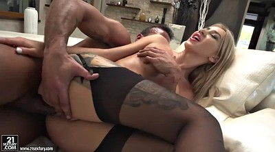 Stockings anal, Dildo ride, Blondie