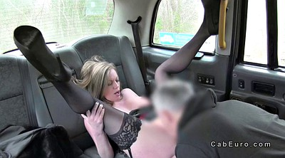 Public, Foot job, Public car, Feet job